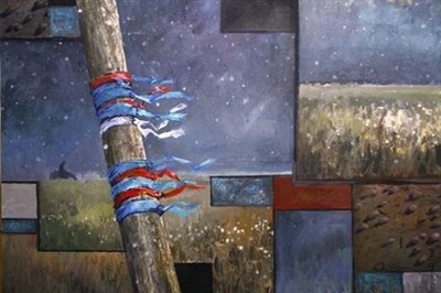Персональная выставка «О чем молчит Байкал?» Александра Имедеева открылась в Иркутске