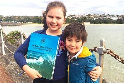 Книга «Байкал вокруг света» во второй семье в Новой Зеландии