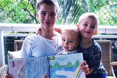 Книга «Байкал вокруг света» в Бразилии