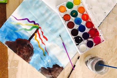 Книжный проект «Байкал вокруг света» объявляет всероссийский конкурс детских рисунков Байкала