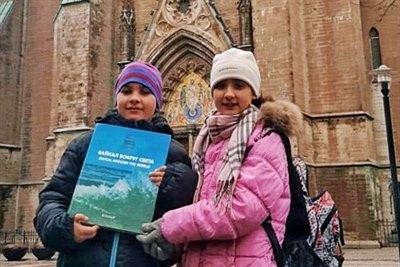 Книга «Байкал вокруг света» в Швеции