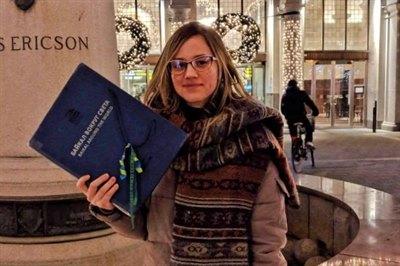 Книга «Байкал вокруг света» в Стокгольме