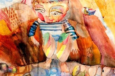 Победители конкурса детских рисунков Байкала в марте