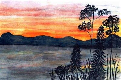 Принимаются работы наапрельский этап конкурса детских рисунков Байкала