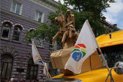 «Культурная столица» в числе призеров праздничного шествия в Иркутске